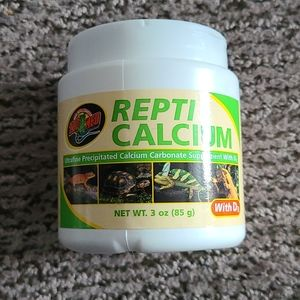 New Zoo Med Repti Calcium with D3 3 oz.